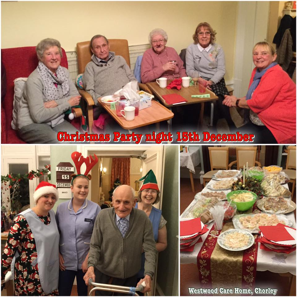 Christmas party at Westwood 15.12.17